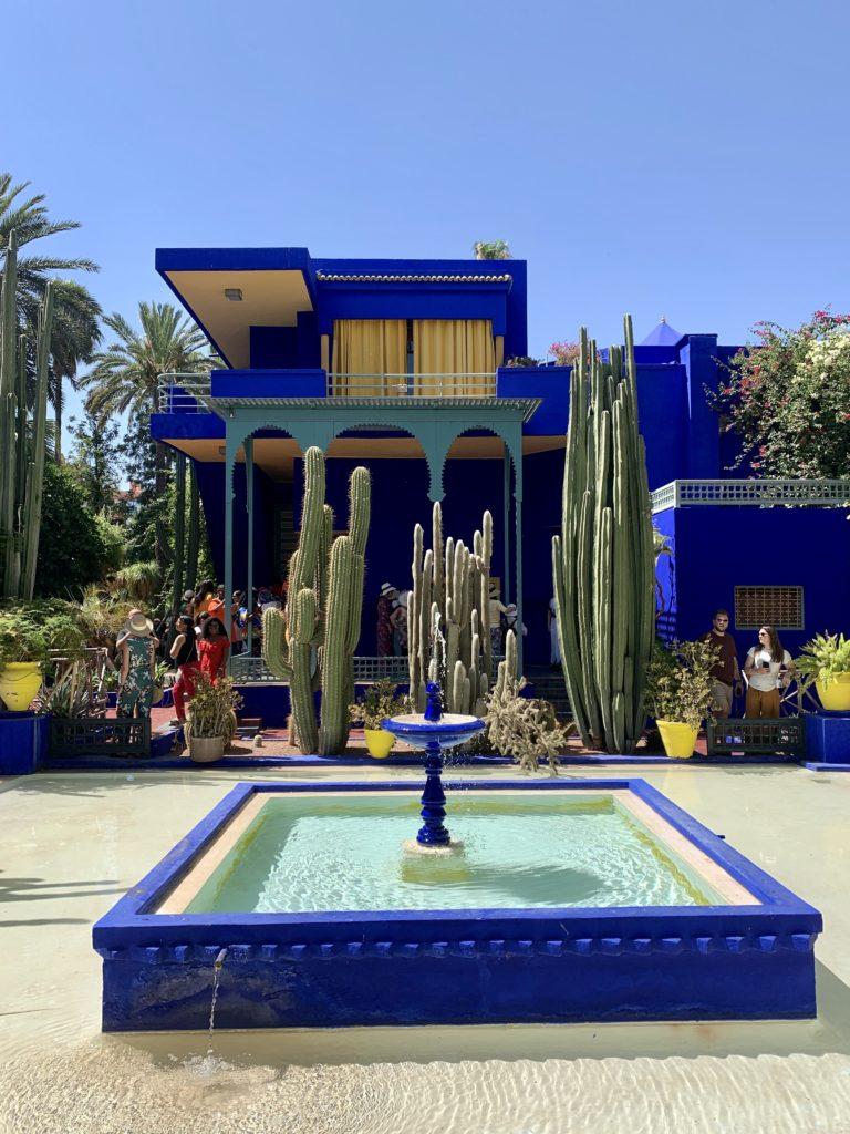 Liz Olusesan Jardín Majorelle Marrakech