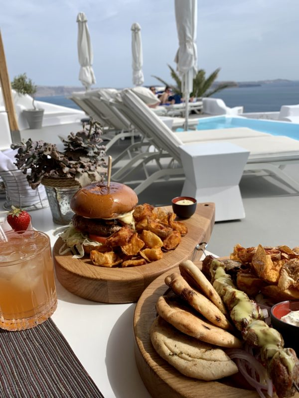 Santorini Oia by Liz Olusesan Restaurant Food Travel