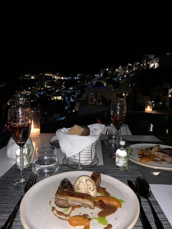 Santorini Oia by Liz Olusesan Travel Katikies Hotel Food